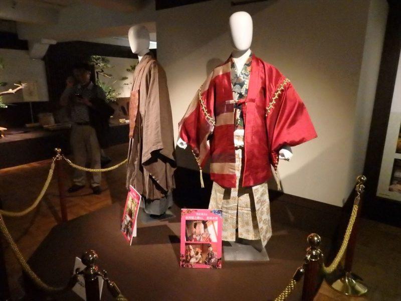 映画『花戦さ』で使用された衣装の展示