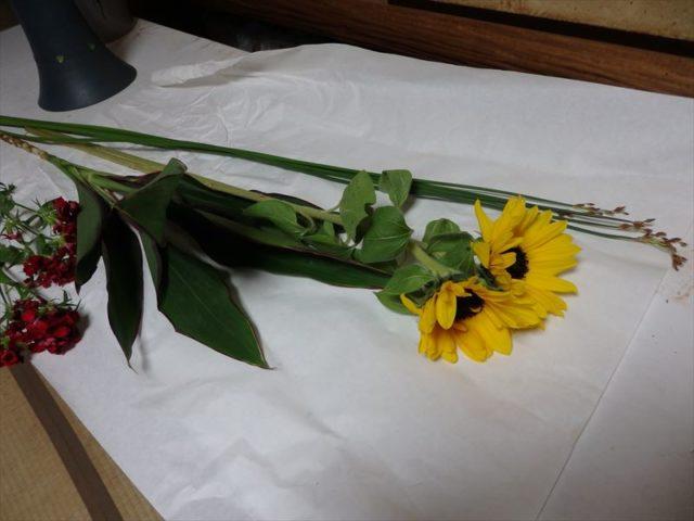 池坊の自由花の花材