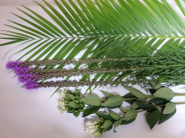 旬の花リアトリスとブバリア