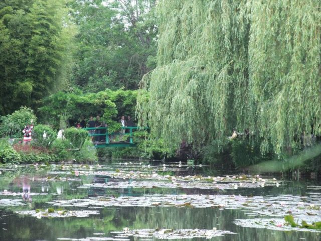 モネが晩年過ごしたモネ自身が造った庭