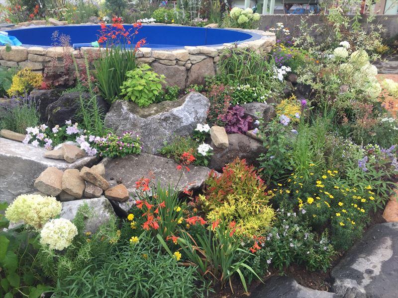 石原流花の植栽