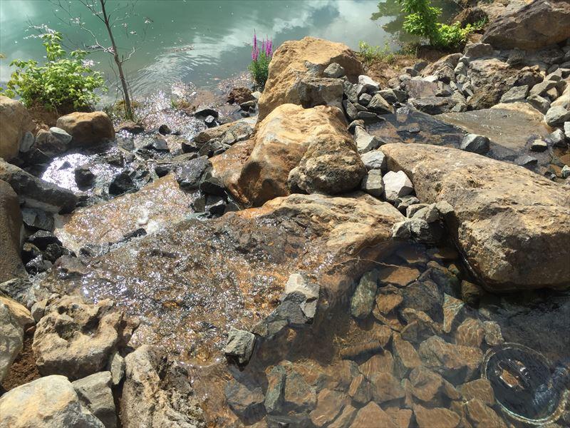 滝の水流テスト