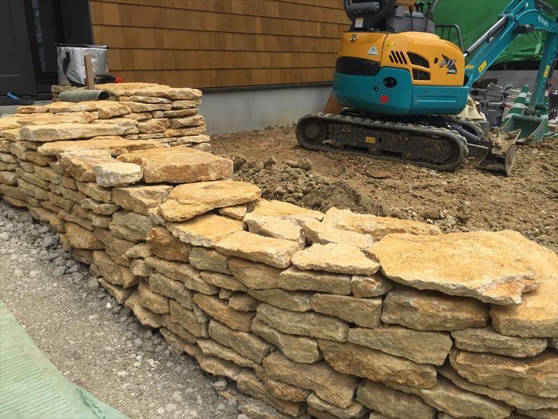 日本でこの石積みができるのは30人だけ