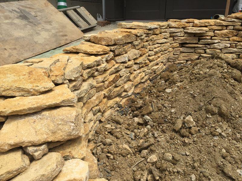 イギリス式の石積み