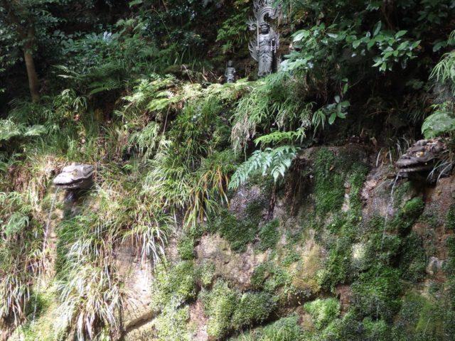 等々力不動尊の源の滝