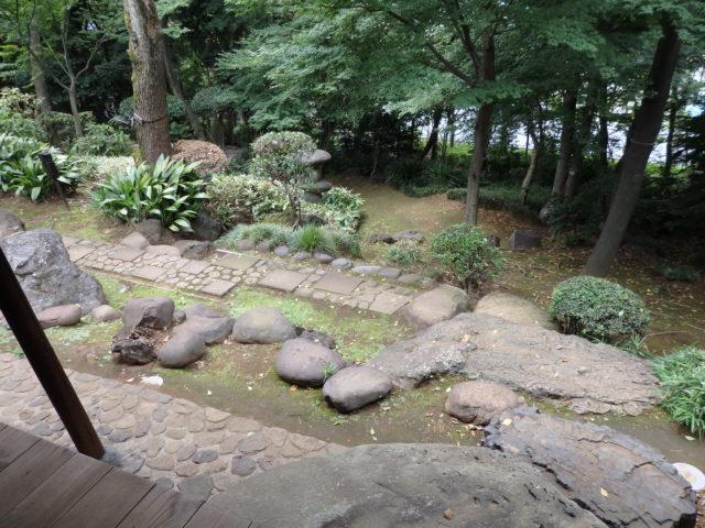 平野部の石畳パターン