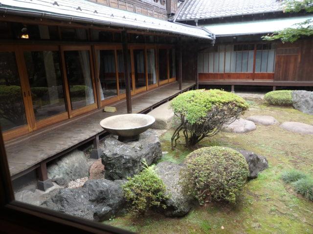 大正時代の典型的和風庭園