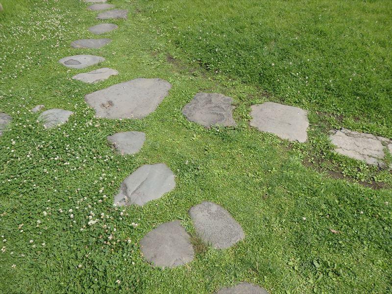 カワイイ感じの石畳