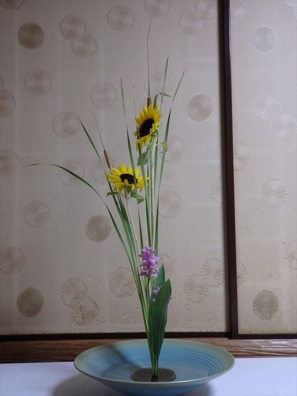 先生のお直しが入った生花