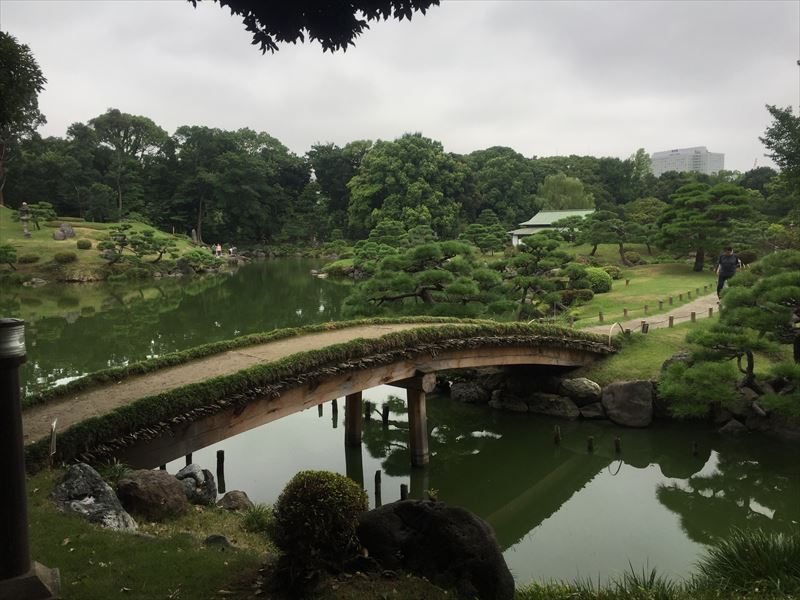 小島に渡るための橋