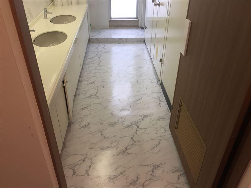 綺麗に仕上がった床リフォーム