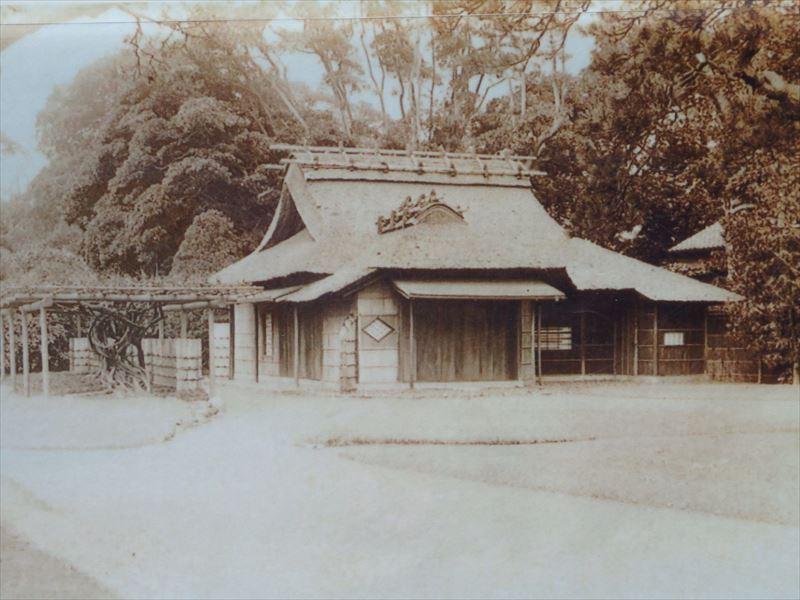 平成30年3月下旬に完工予定の復元茶屋