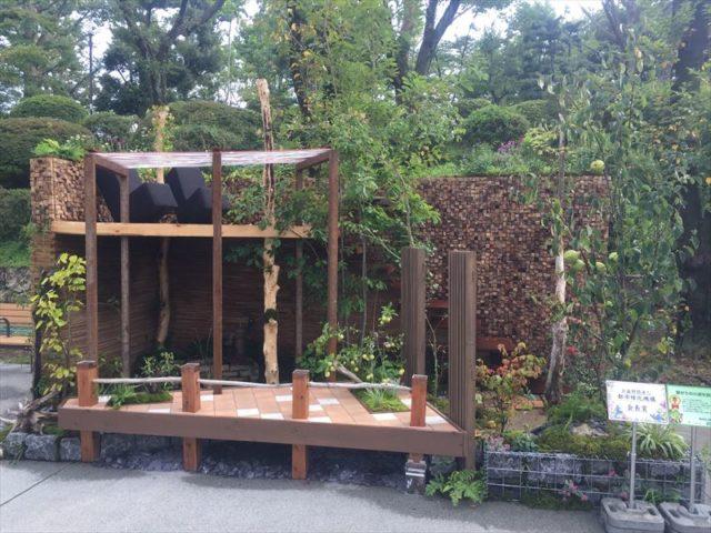 都市型のお庭