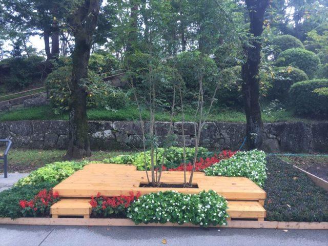 銅賞を獲得のお庭