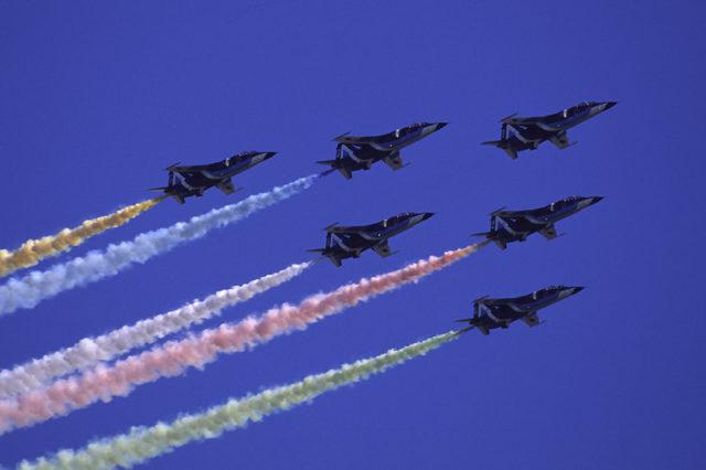 日本が誇るアクロバット飛行隊