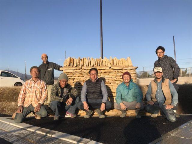 日本各地から集結した石積みのメンバー