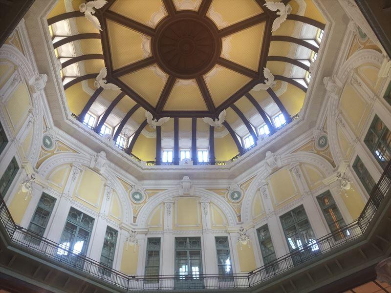 2012年に復刻工事が行われた東京駅丸の内駅舎