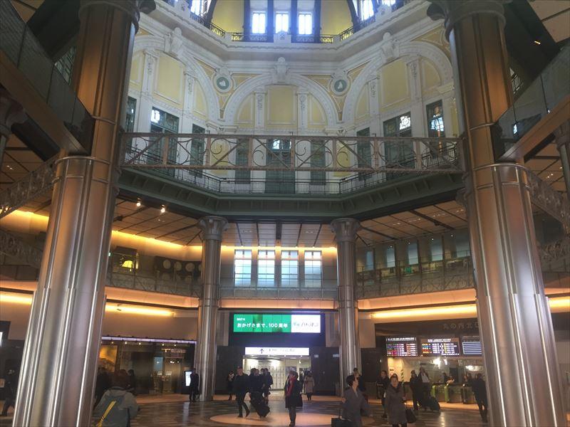 東京駅の丸の内駅舎北口