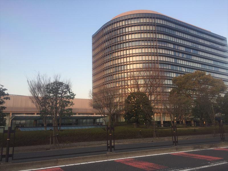 世界のトヨタの本社ビル