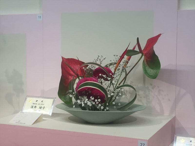 展示会に出品された知人の深井先生の作品