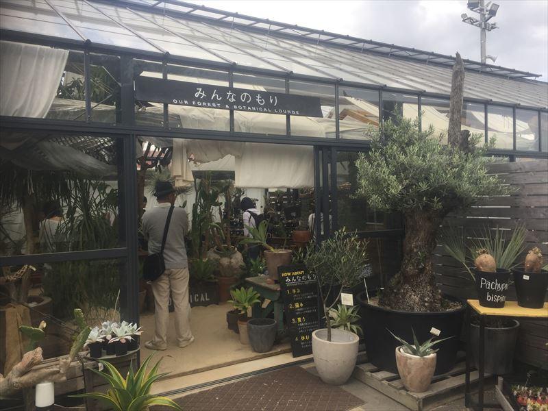千葉県稲毛市にあるSOLSOプロデュースの園芸店