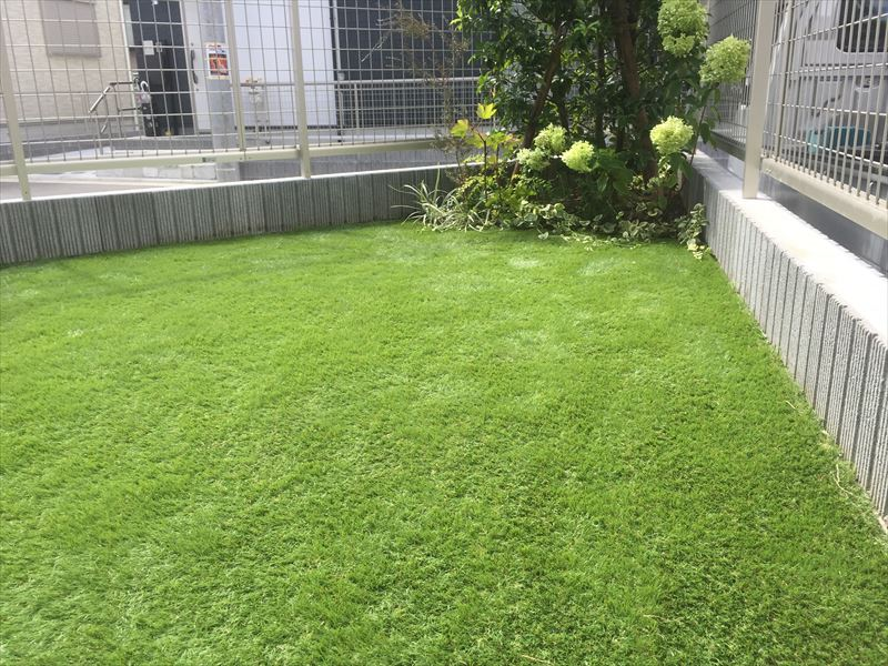ローメンテな人工芝で子供が安心して遊べる空間づくり