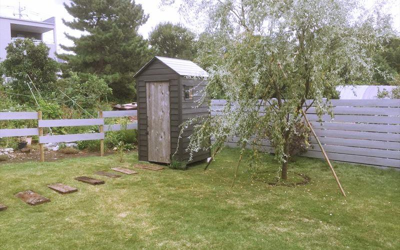 有名造園会社ブロカントがデザインを行いぐりんぐりん/grengrenが施工したお庭