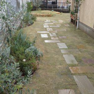 お庭に出たくなるような公園風ガーデンを目指したガーデンリフォーム