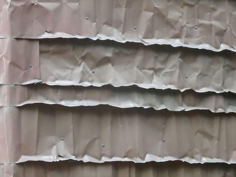 銅版の外壁