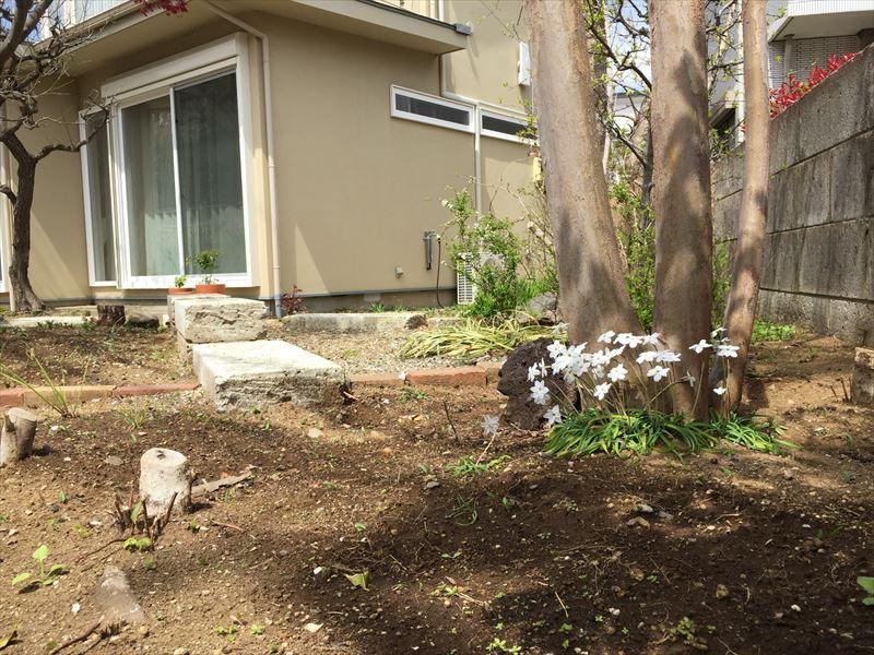 施工主さんがガーデニングを楽しむお庭