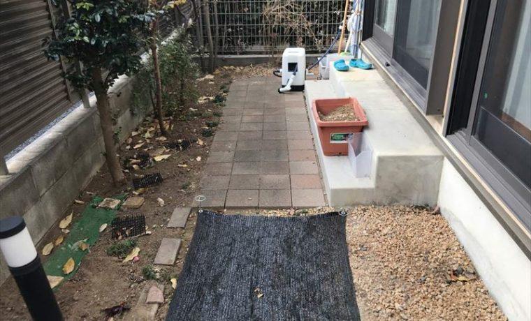 建売住宅の庭をリガーデン