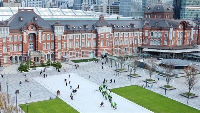 生まれ変わった赤レンガの東京駅