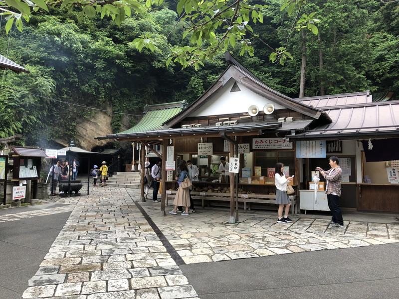 意外と広い場所にある鎌倉銭洗弁天