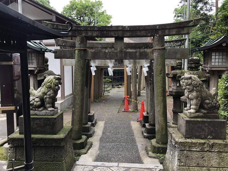鎌倉銭洗弁天の別の入り口