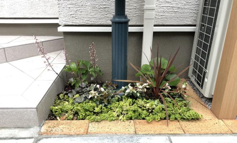 ぐりんぐりんが植栽工事を行った世田谷区の新築個人邸
