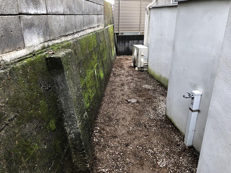ドクダミを綺麗に除去した世田谷のお庭