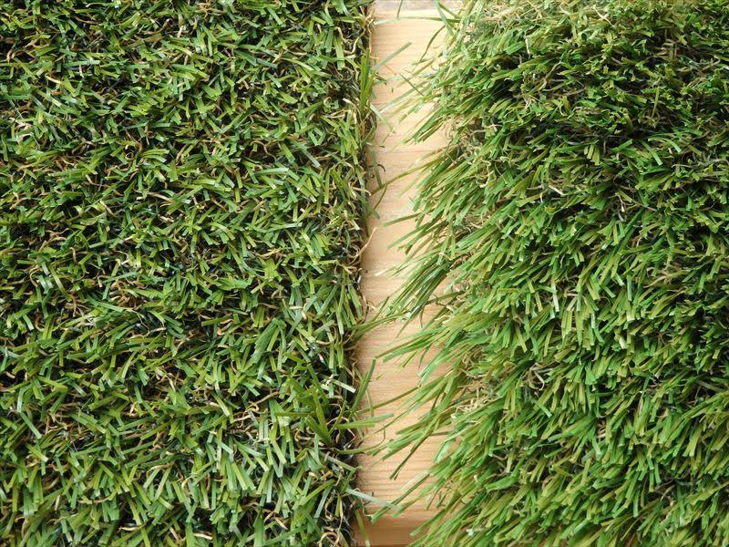 人工芝の種類と違いが分かる画像