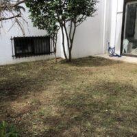 草刈りを終えた横浜市の個人邸