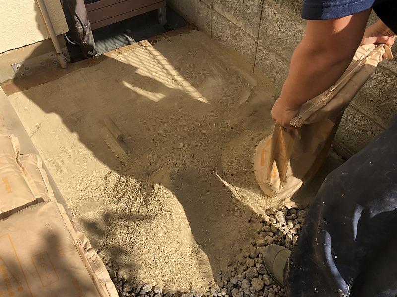 固まる土の施工方法