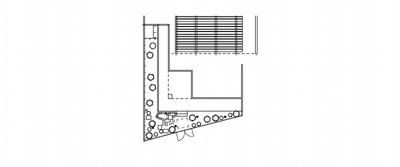 お庭づくりで提案した世田谷区の個人邸の図面