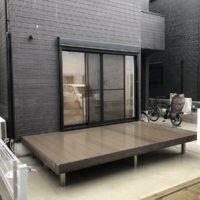 目隠しフェンスを設置する千葉県習志野市の新築個人邸