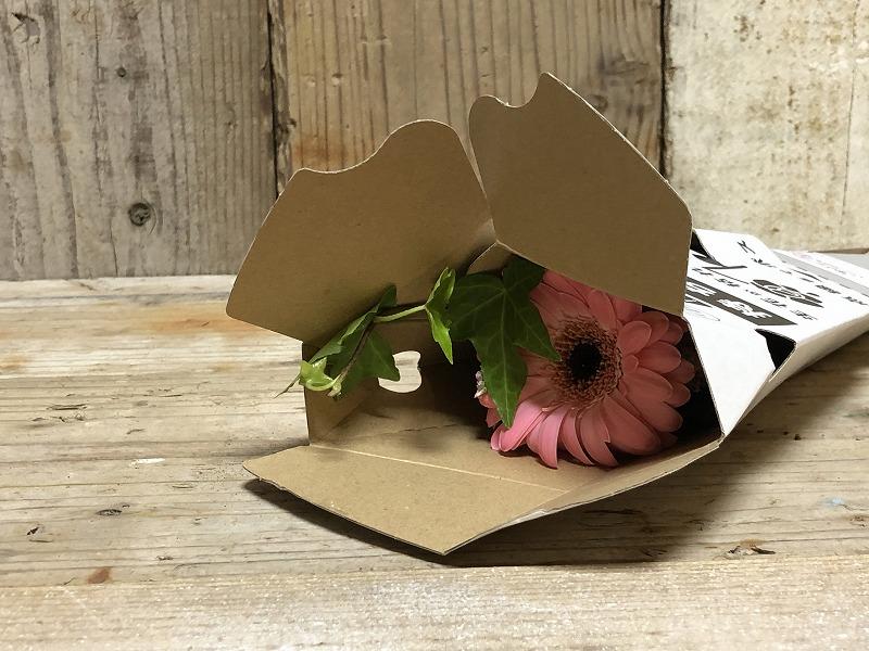 お花の定期便のブルーミーライフ500円の体験プランの花