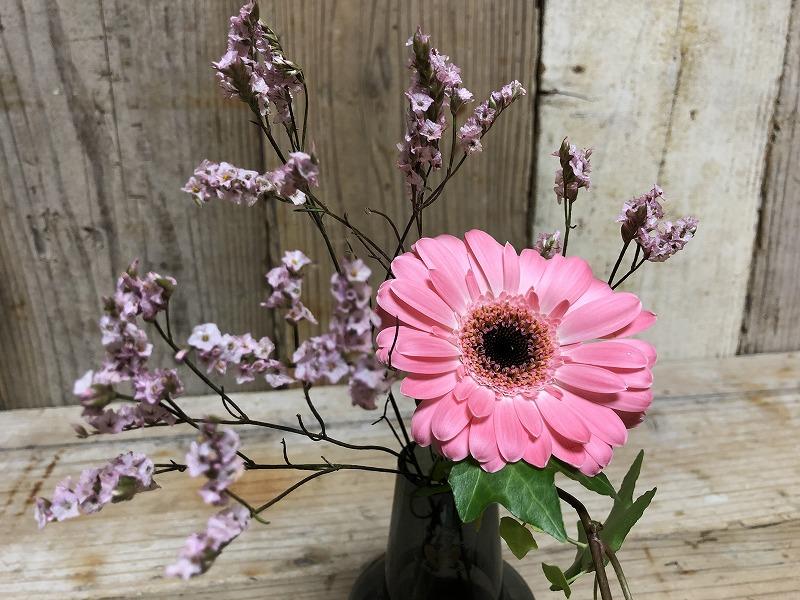 お花の定期便ブルーミーライフの花生け