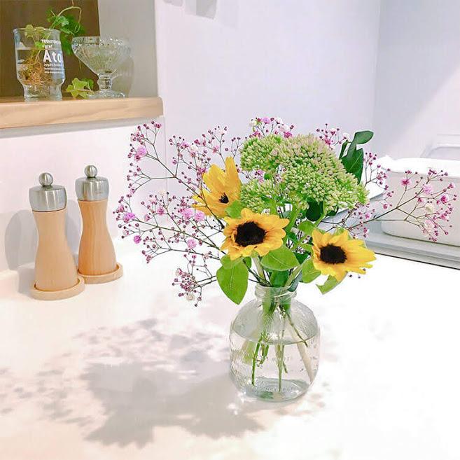お花の定期便ブルーミーライフの花束
