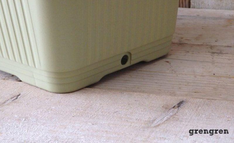 横穴のベジタブルプランター