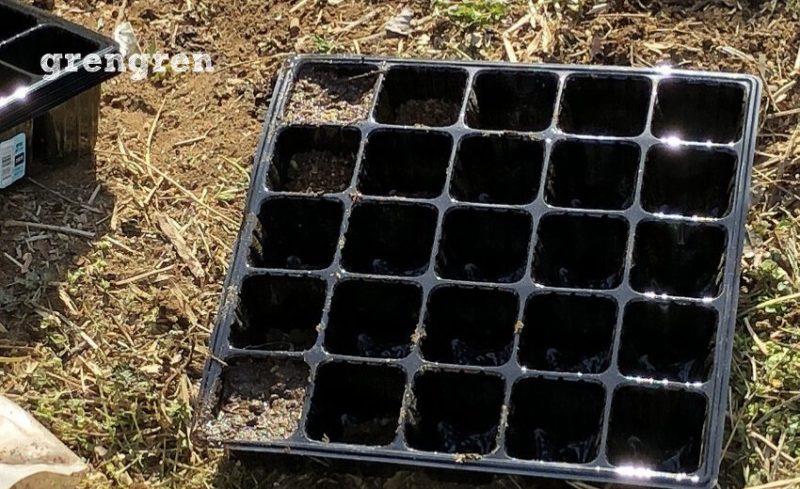 つくった土壌と畑の土と水はけの違い