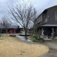 千葉県のとある幼稚園の園舎と園庭