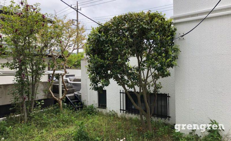 横浜市青葉区のガーデンリフォーム工事の施工前
