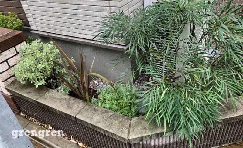 植物の色合いで遊ぶ調布市の植栽リフォーム施工後