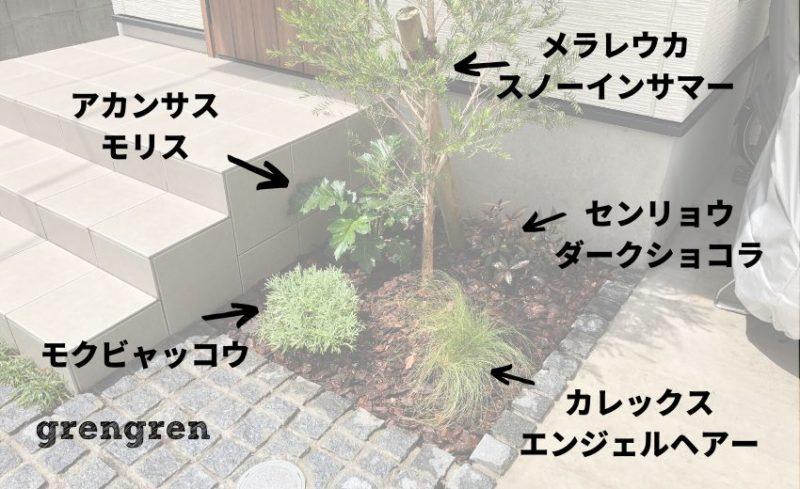世田谷区のナチュラルガーデンの植栽